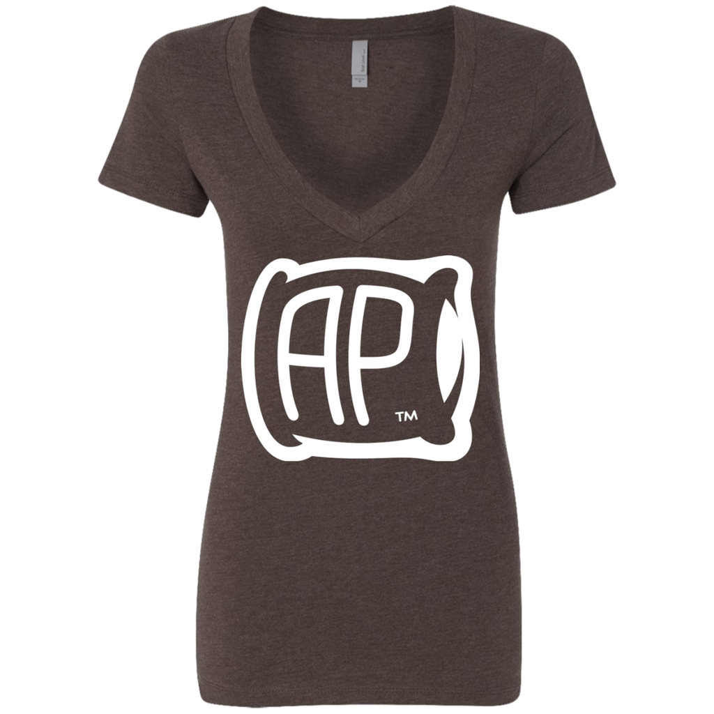 Ladies' Deep V-Neck T-Shirt