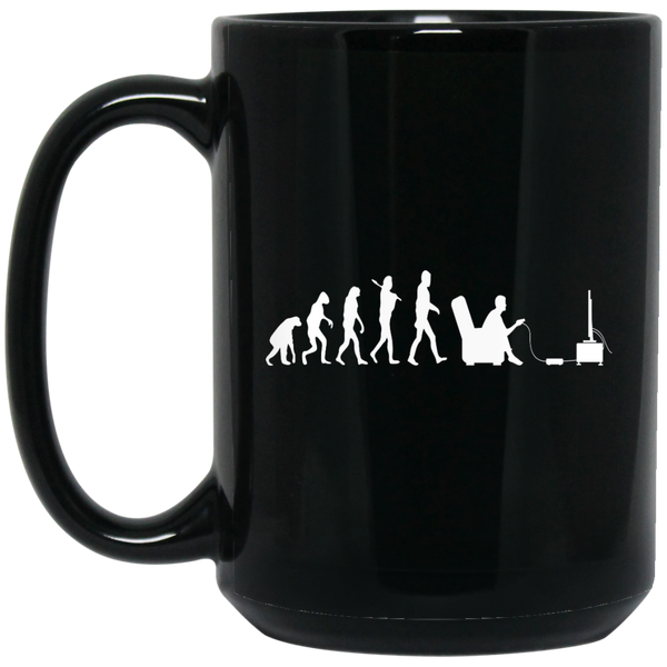 Dan's 15 oz. Black Mug