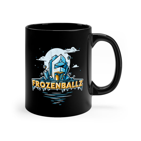 Frozenballz Black mug 11oz