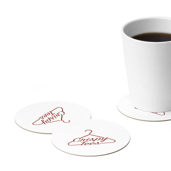 Round Paper Coaster Set - 6pcs