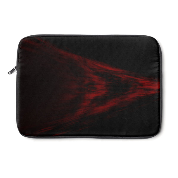Rage Red Skull Laptop Sleeve by Sycra
