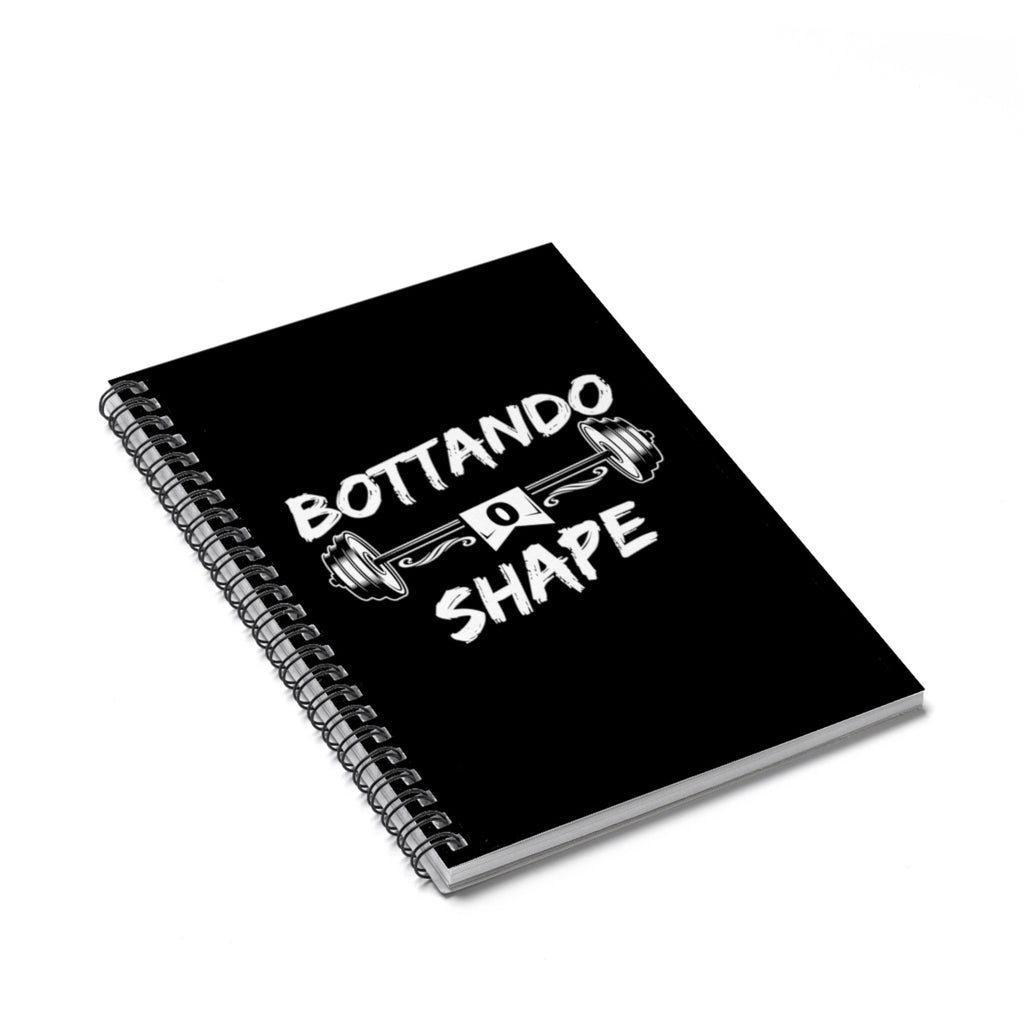 Caio Bottura 90 day Challenge Spiral Notebook
