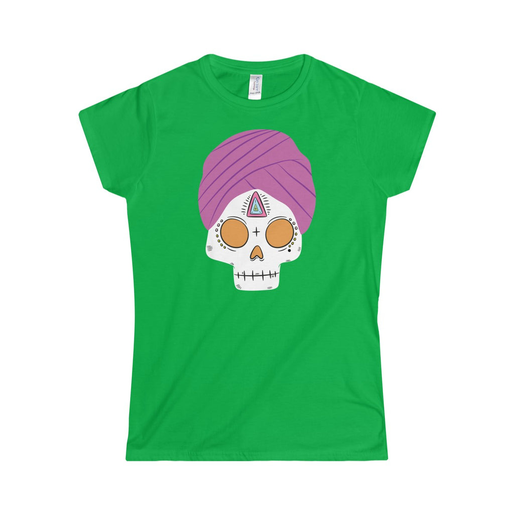 Skull Turban Women's Softstyle Tee
