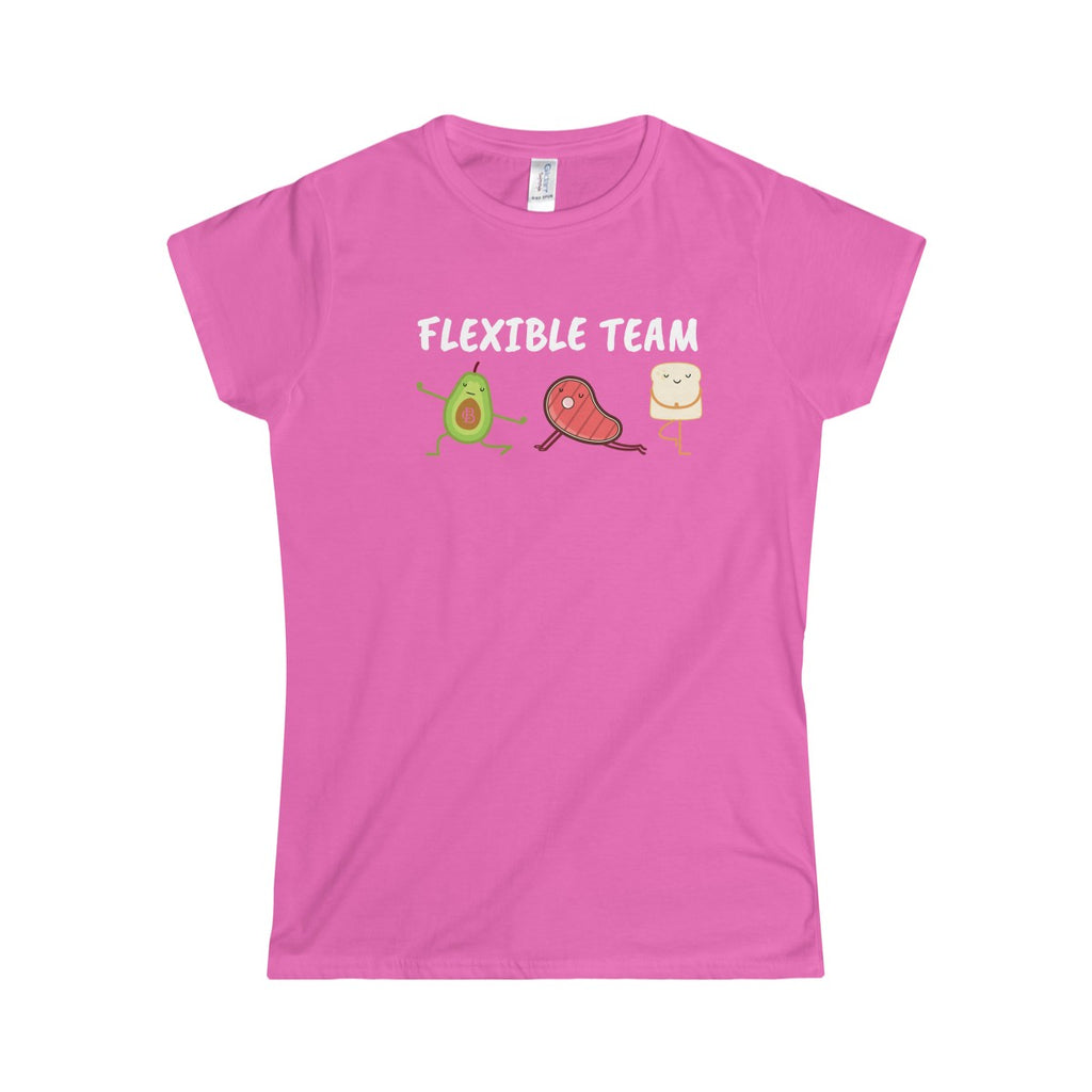 Flexible Team Women's Softstyle Tee