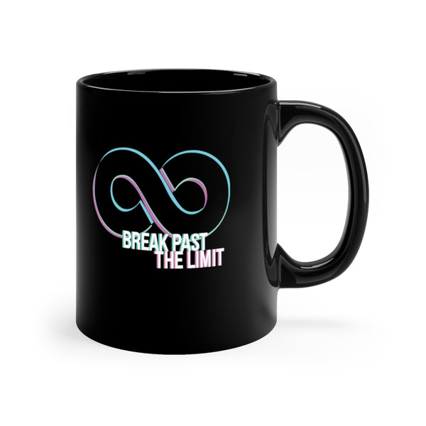 BPTL Glitched Black Mug 11oz