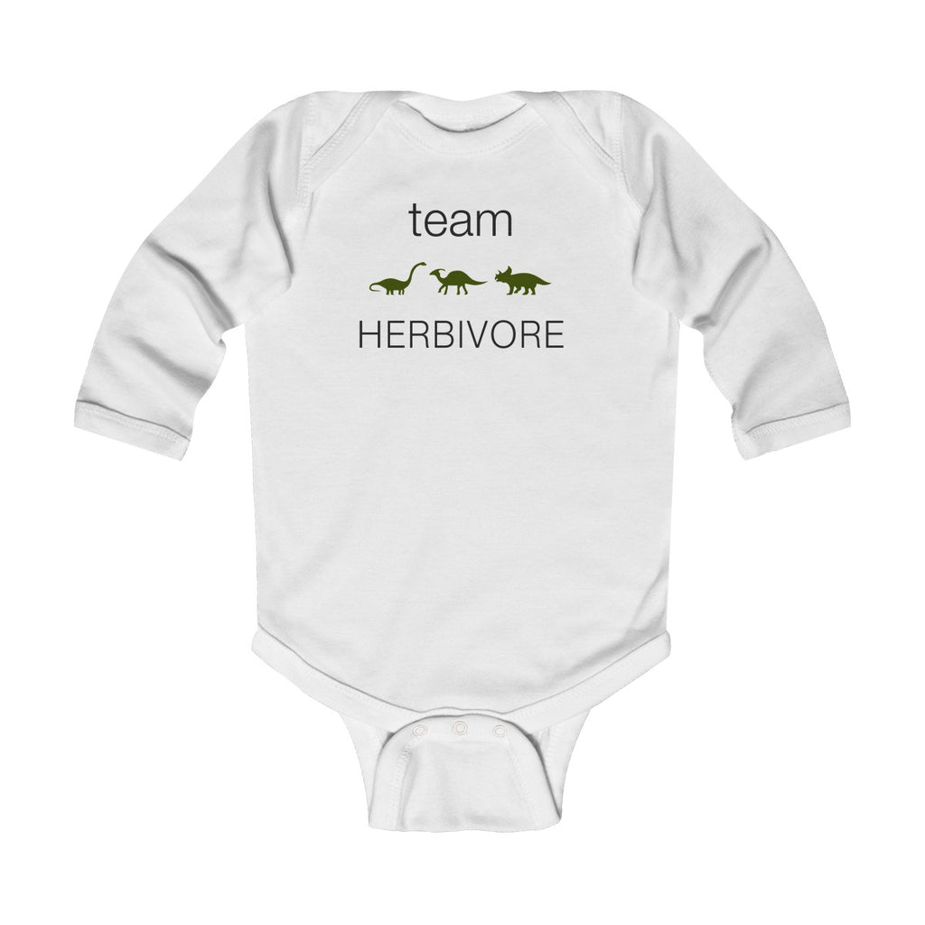 Team Herbivore Long Sleeve Bodysuit
