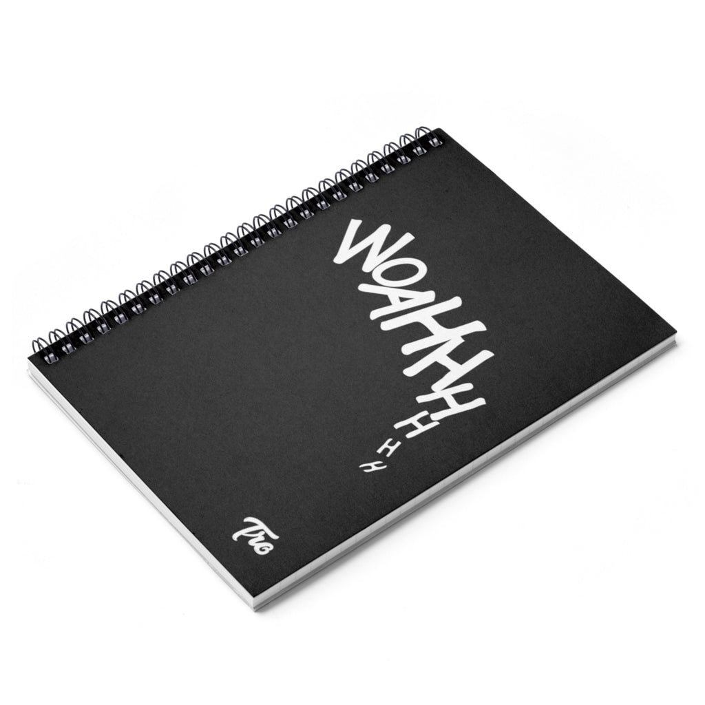Woahhhhhh Spiral Notebook