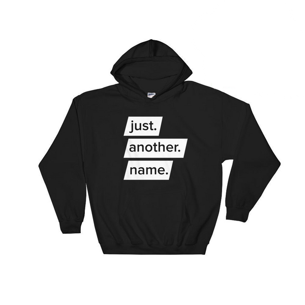 Just Another Name Hooded Jumper by The Janoskians