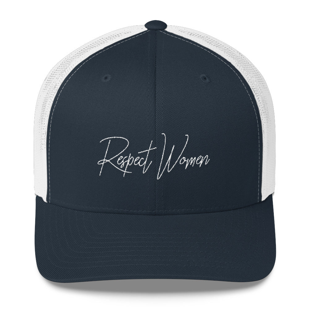 Respect Women Trucker Cap 2