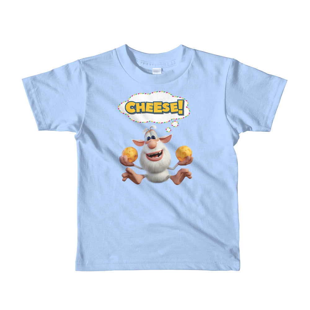 Booba Cheese! Toddler Shirt - Official Booba Apparel