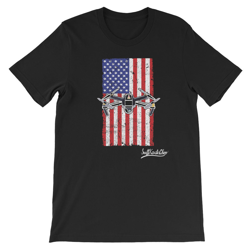 American Quadcopter T-Shirt
