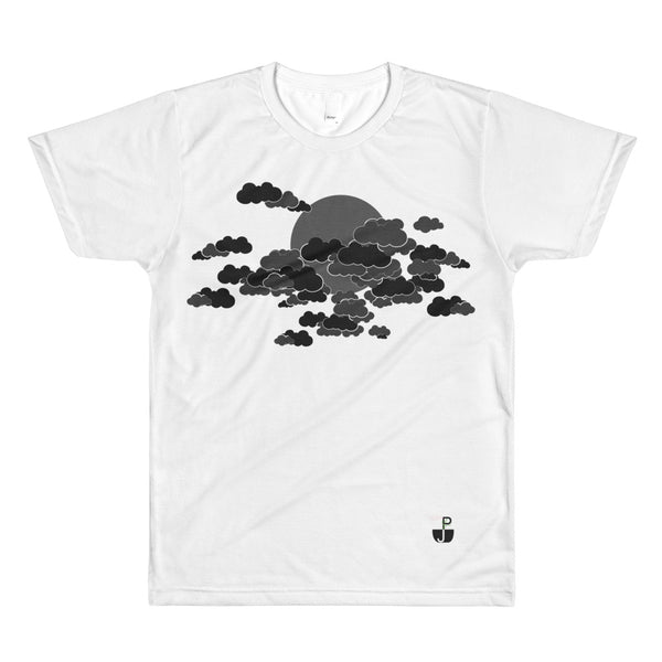 Dark Clouds All-Over Print T-Shirt by PJ Dreams