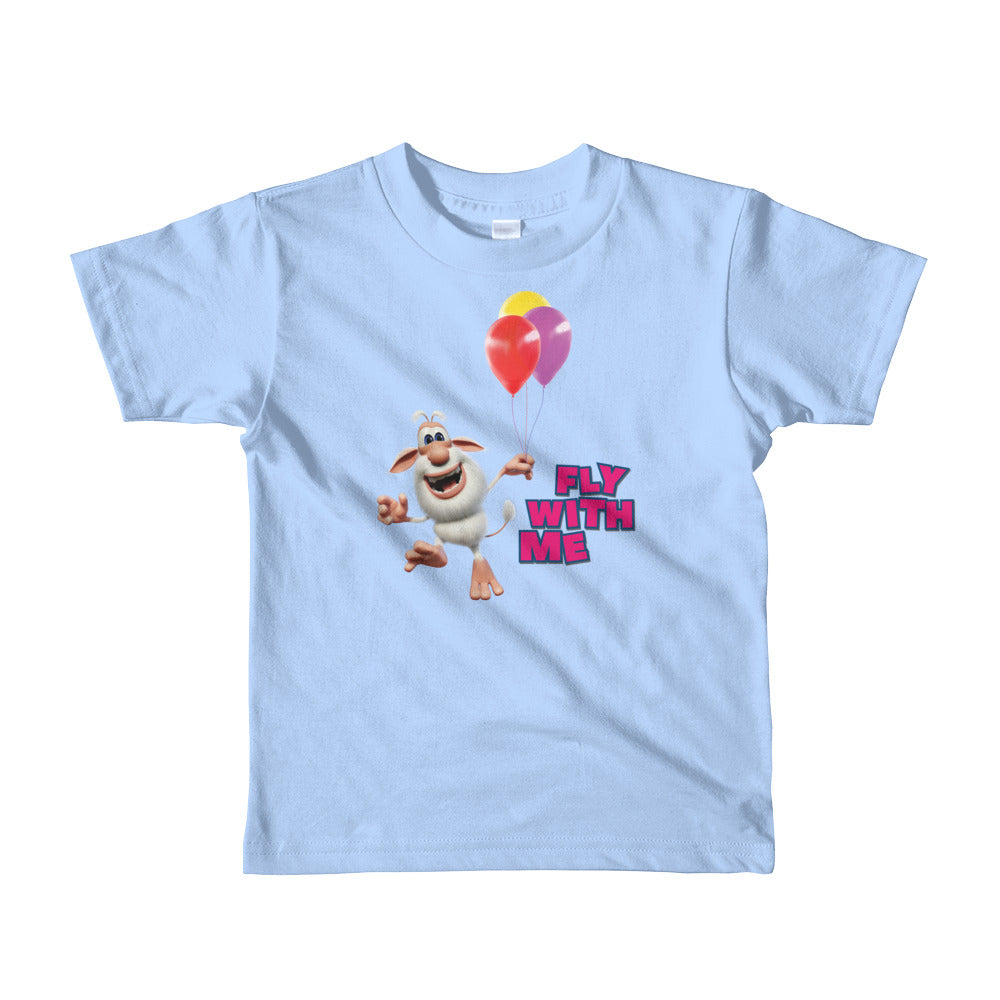 Booba Fly With Me Toddler Shirt - Official Booba Apparel
