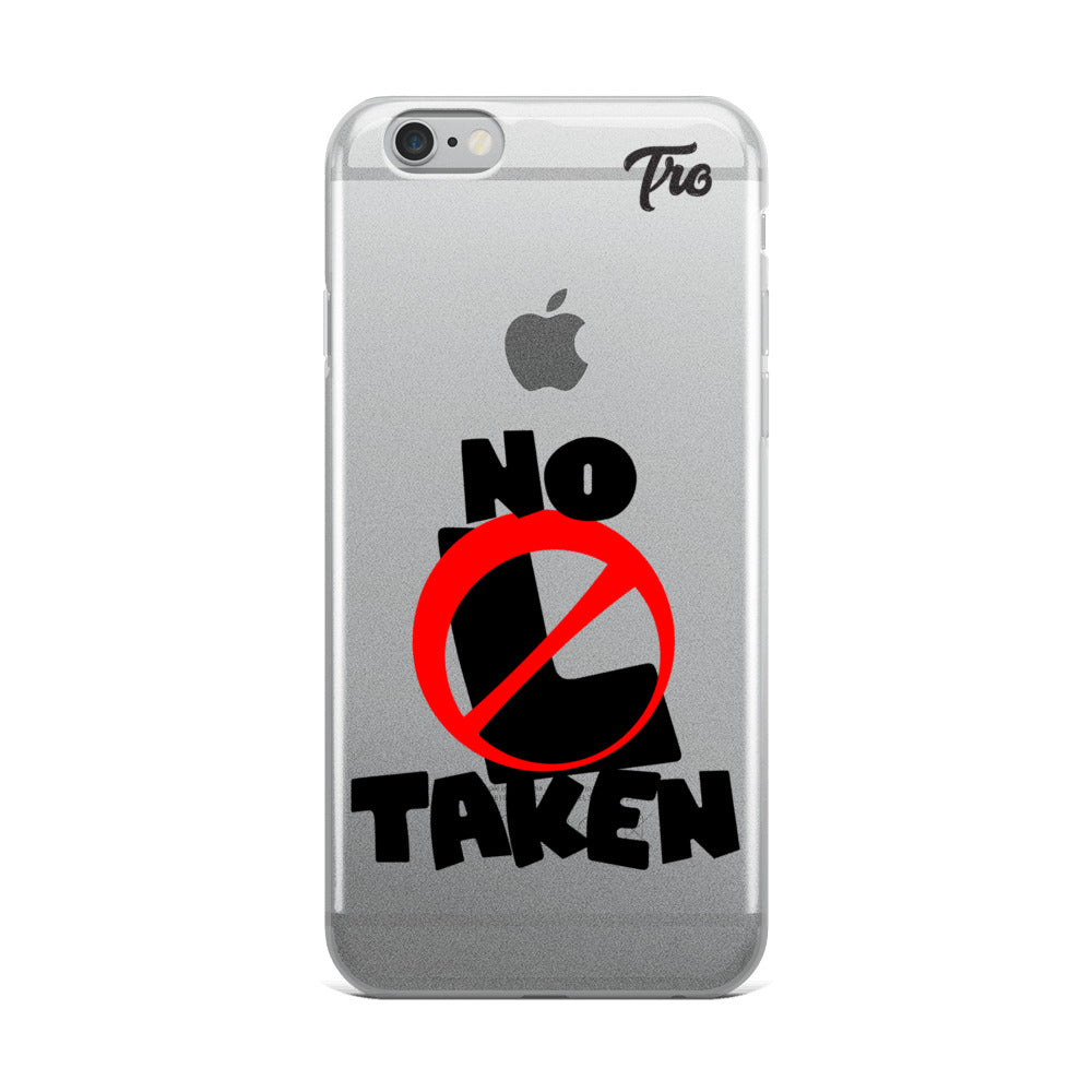 No L Taken iPhone Cases by Triggered Tro