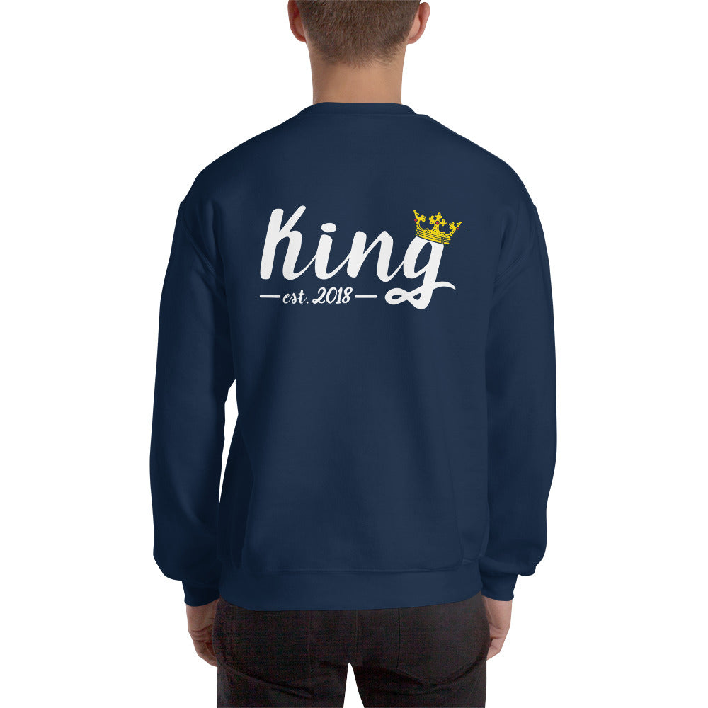 Matching King Sweatshirt by Marsai Bell