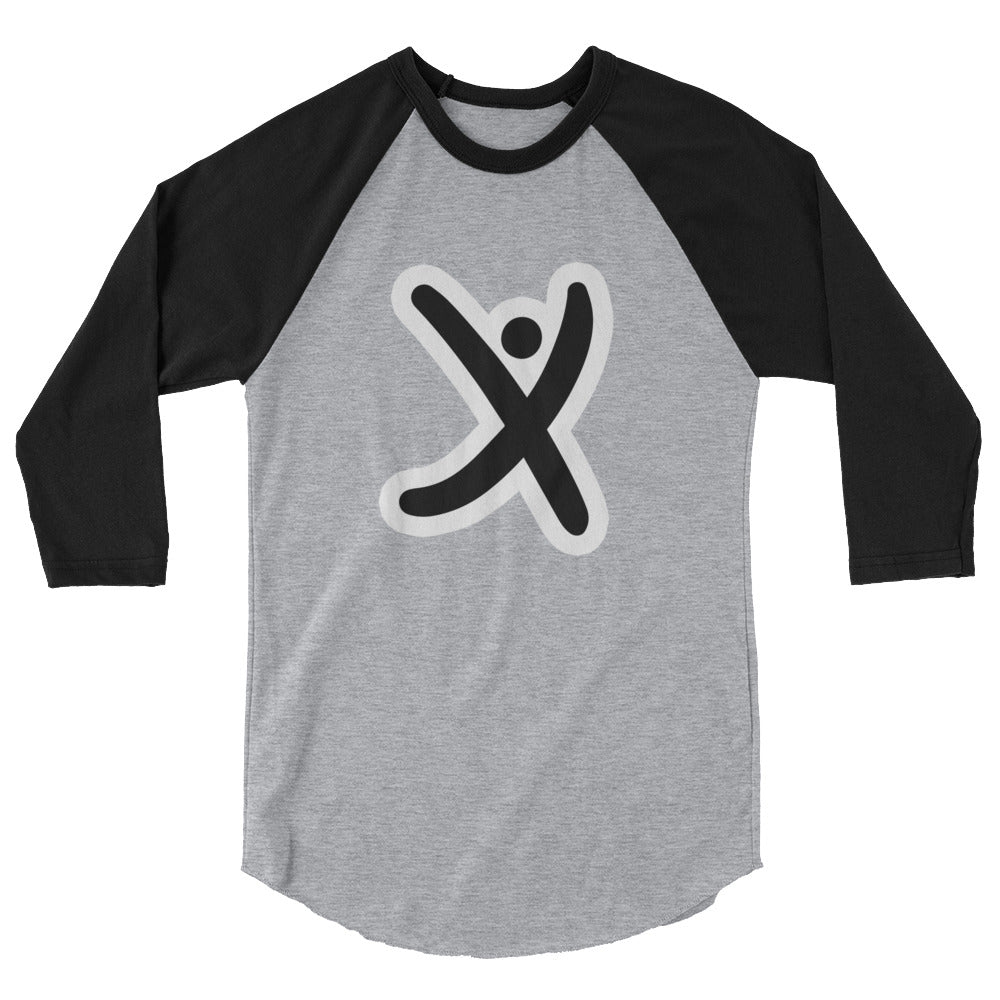 Xabio Art 3/4 sleeve raglan shirt