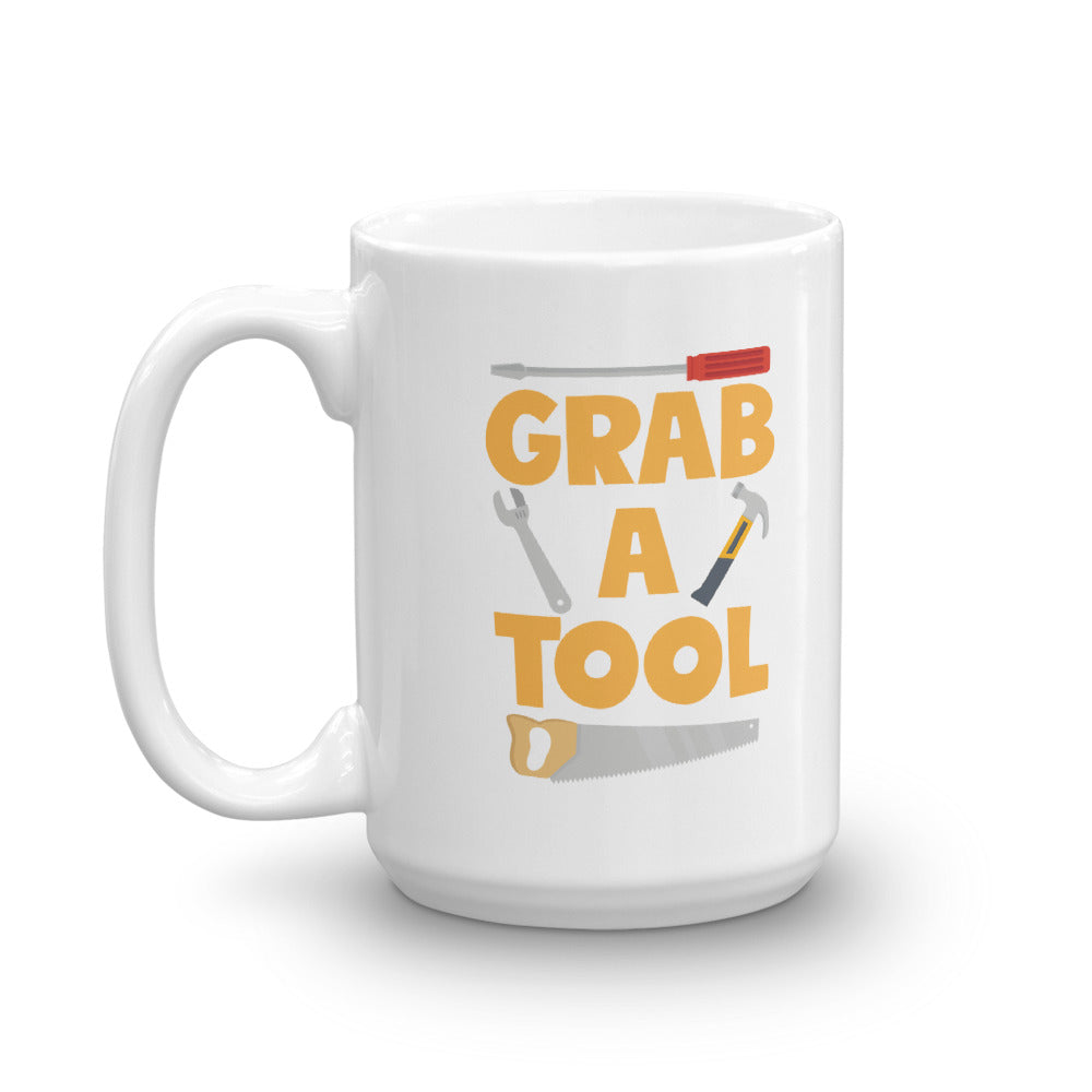 Grab a Tool Mug - DIY Creators Official Merchandise