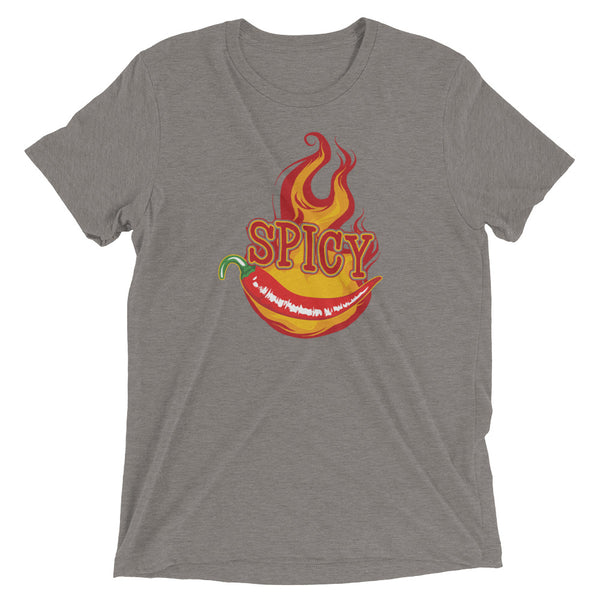 Spicy Tri-blend Short Sleeve Tee