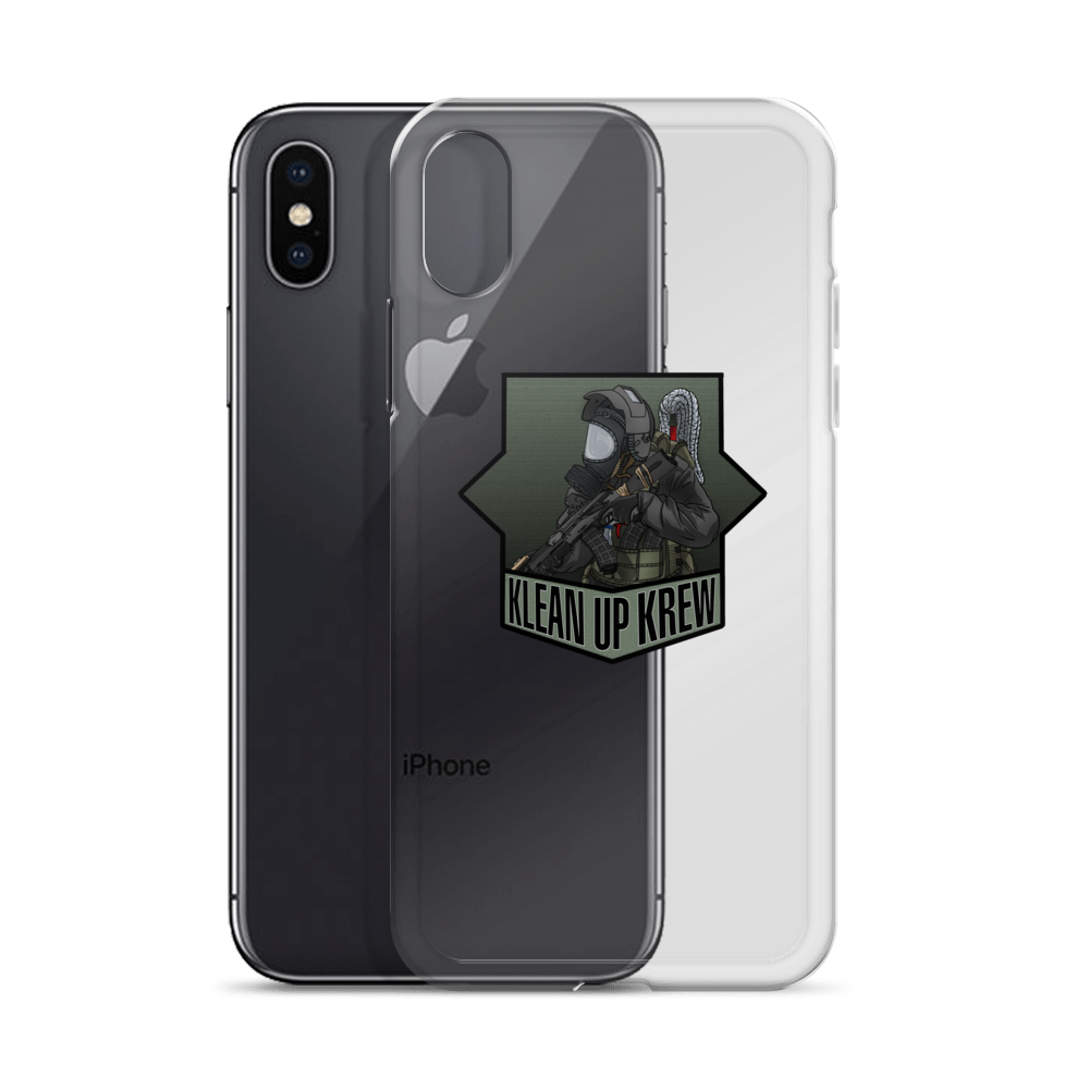 Klean Up Krew iPhone Case