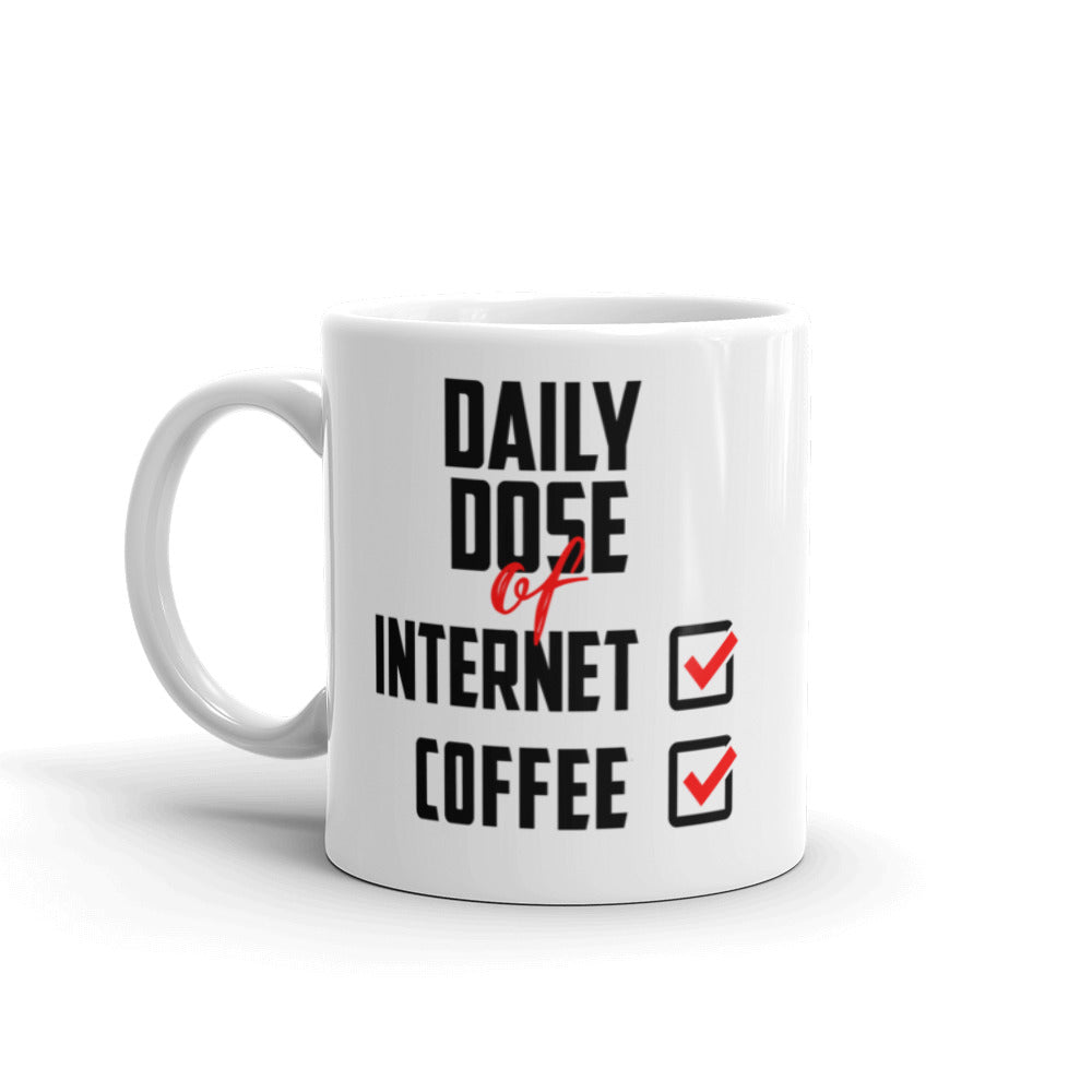 Daily Dose of Internet Checklist Mug