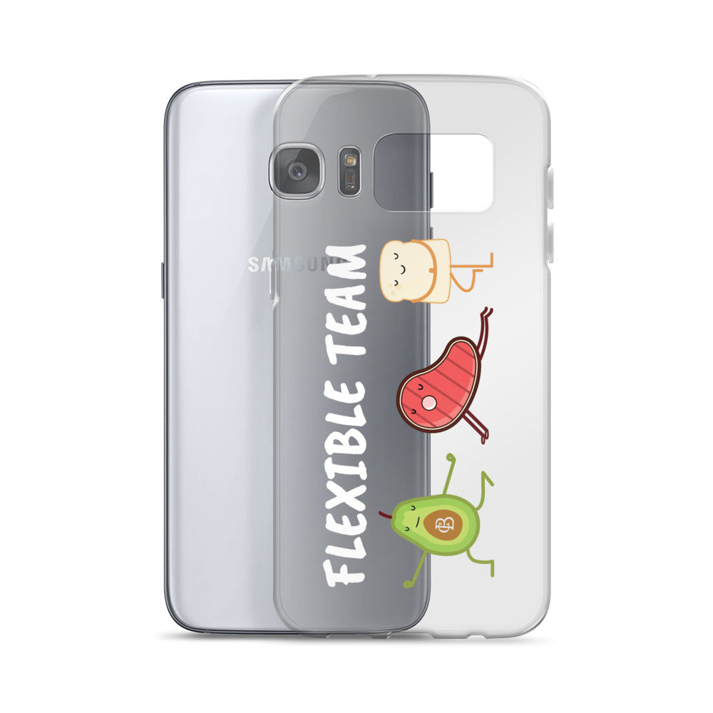 Flexible Team Samsung Cases by Caio Bottura