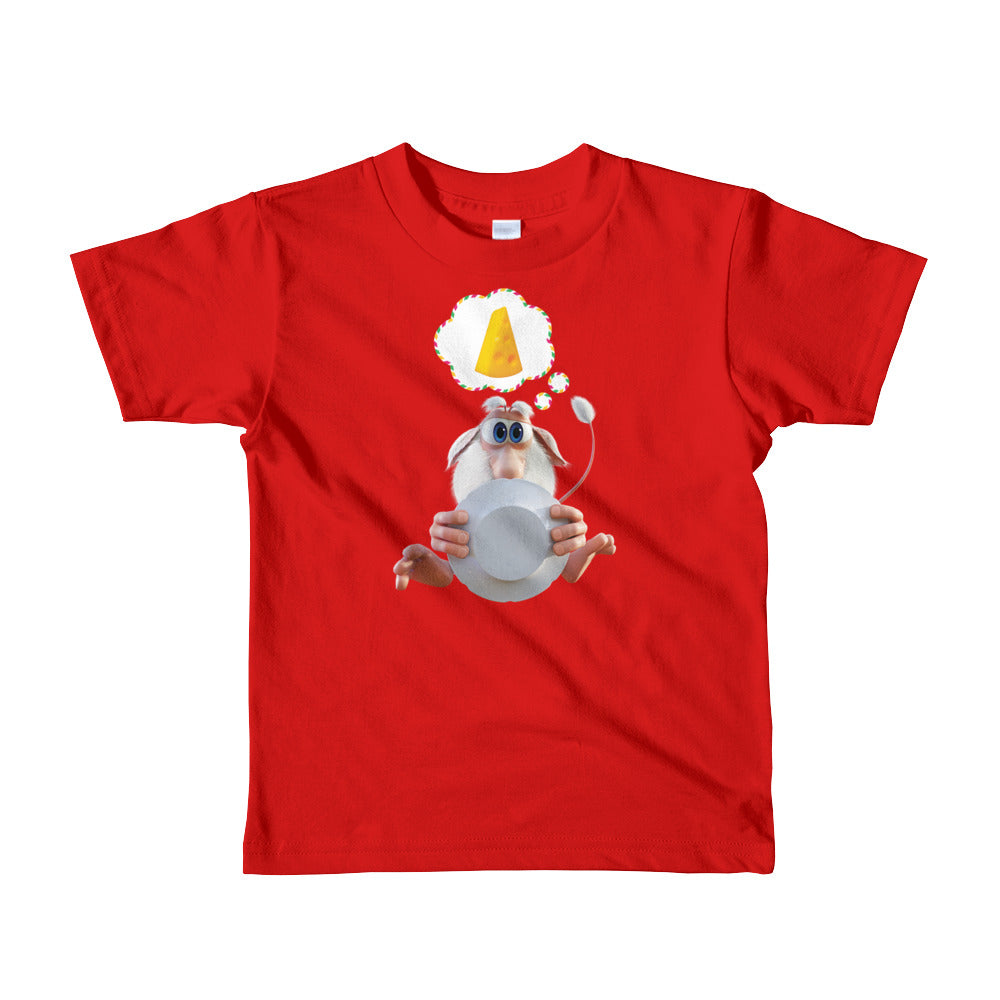 Booba Cheese Slice Toddler Shirt - Official Booba Apparel