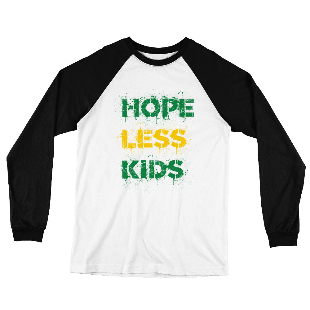 Janoskians Hopeless Kids Limited Apparel - Long Sleeve Baseball T-Shirt