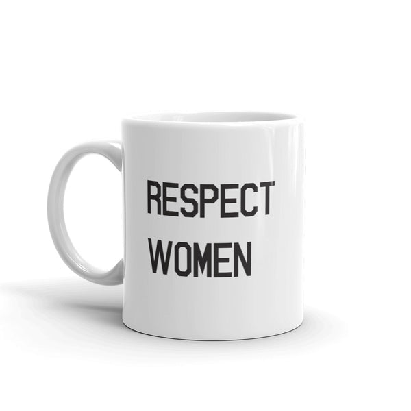 Respect Women Mug - Control The Board