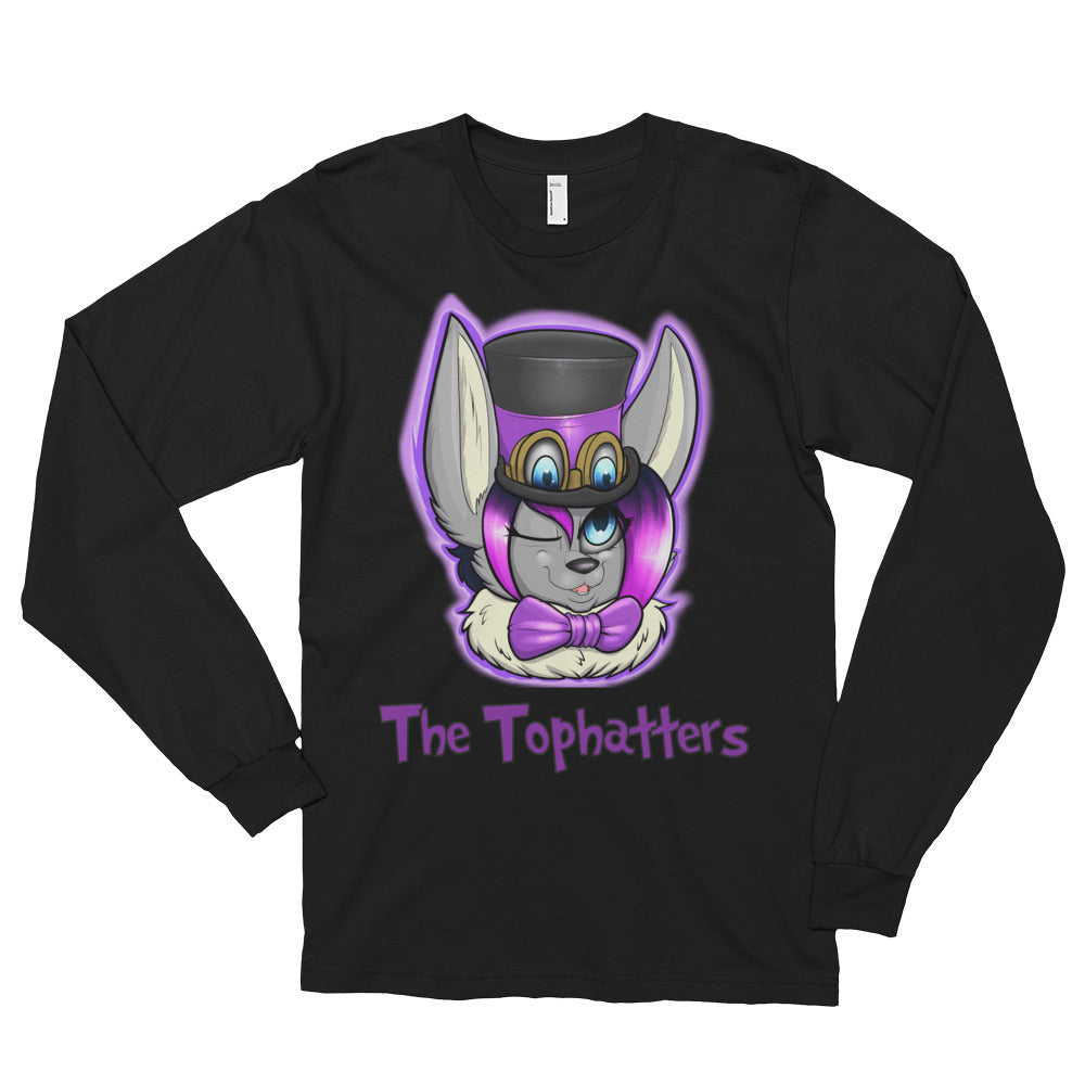 The Tophatters Long sleeve t-shirt (unisex)