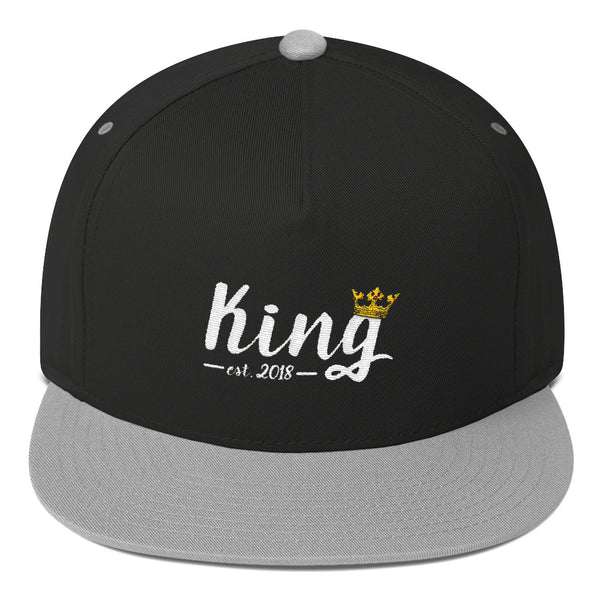 King Flat Bill Cap by Marsai Bell