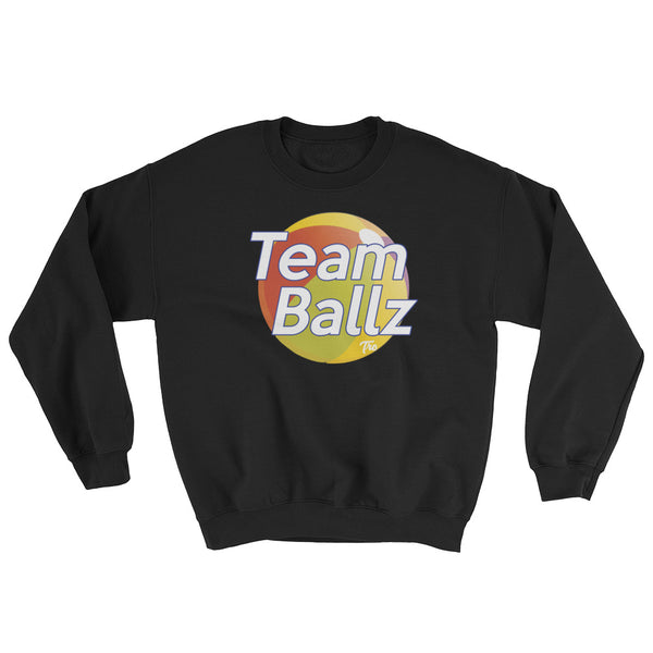 Team Ballz Sweatshirt by Triggered Tro