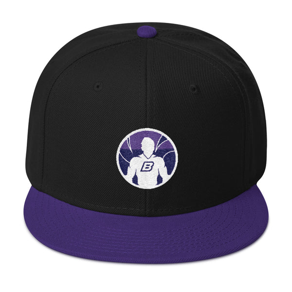 Breakman Purple Snapback Hat