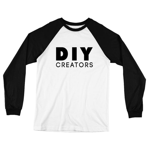 DIY Creators Long Sleeve Baseball T-Shirt