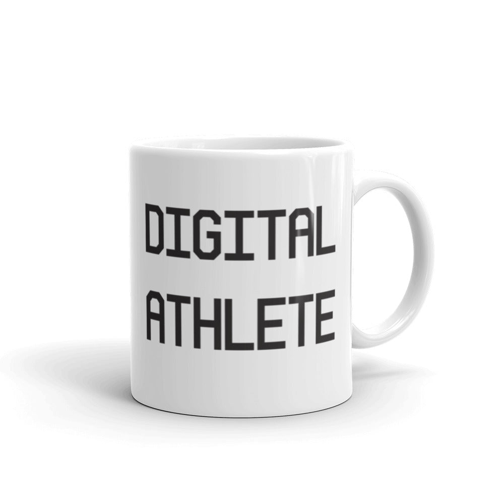 Digital Athlete Mug by Control the Board