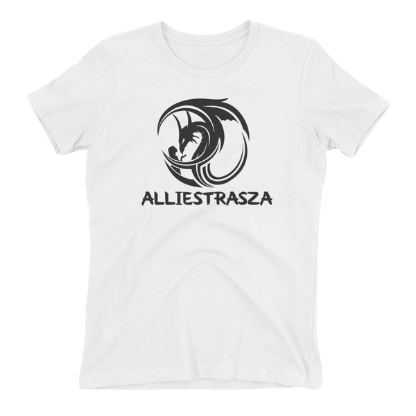 Women's t-shirt - Black Dragon