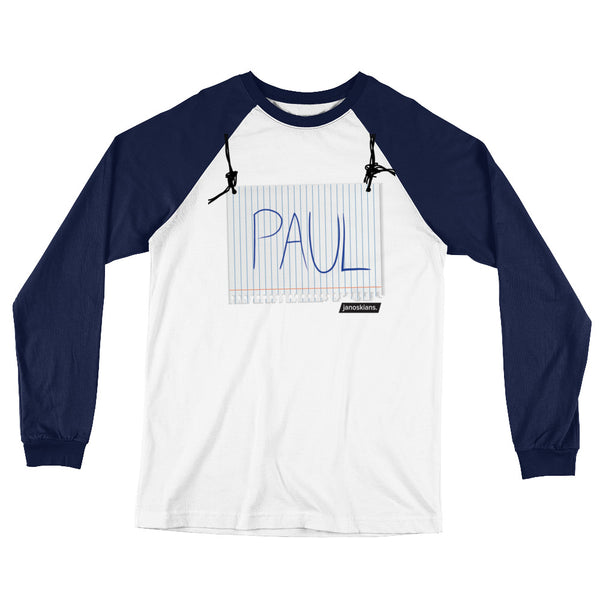 Aw Paul Long Sleeve T-Shirt from The Janoskians