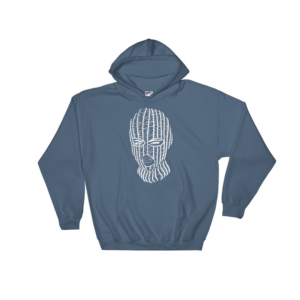 Ski Mask Klean Up Krew Hooded Sweatshirt