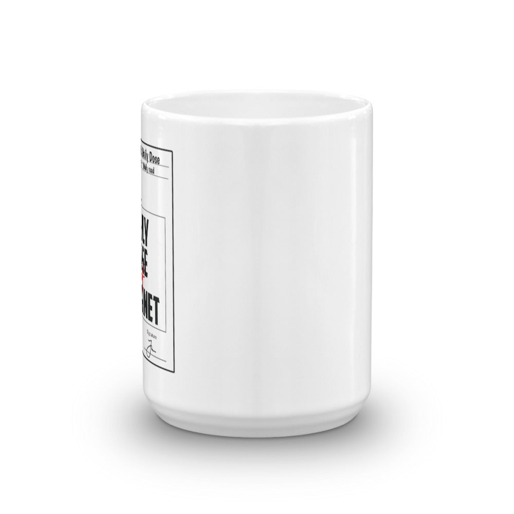 Daily Dose on Internet Prescription Mug