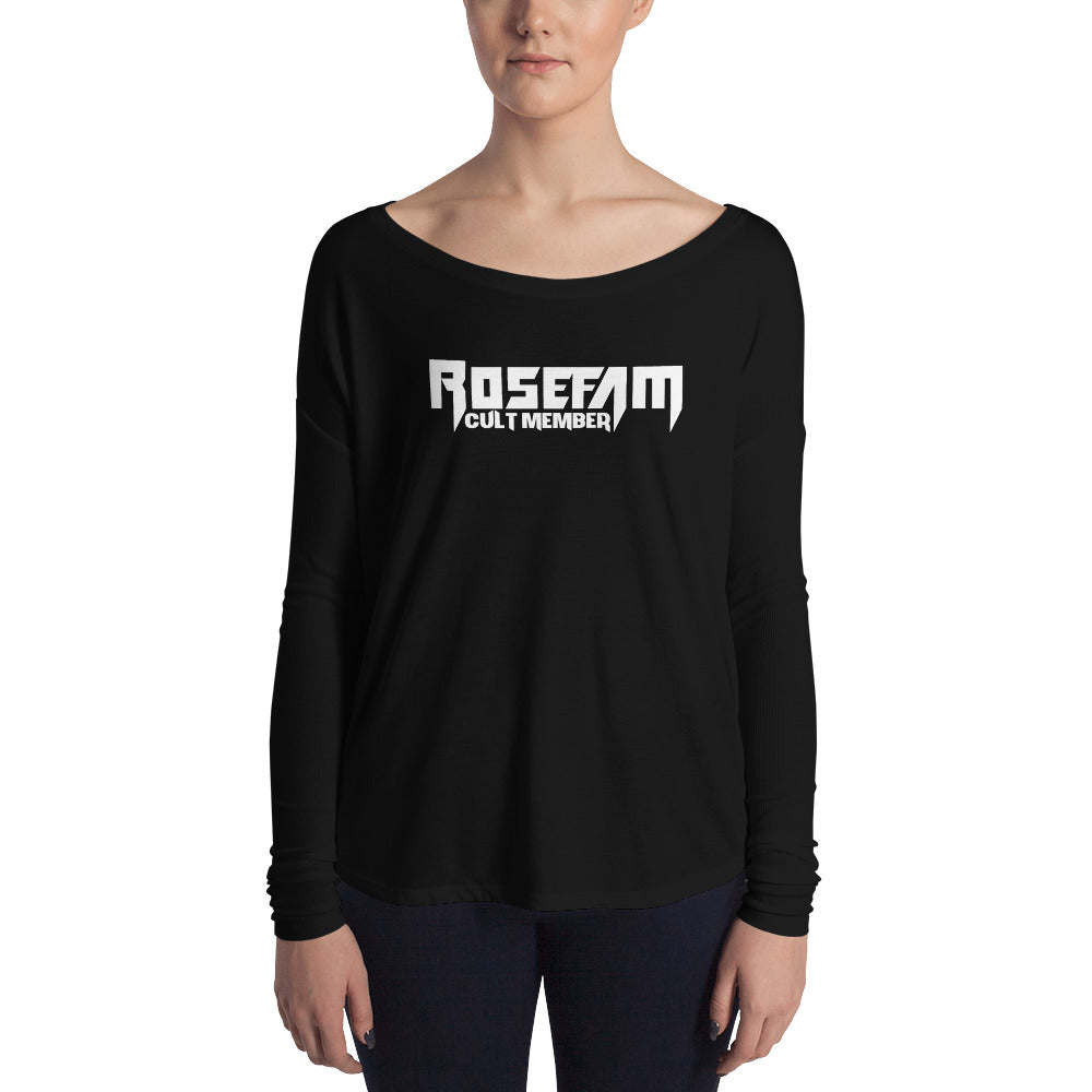 Rosefam Ladies' Long Sleeve Tee