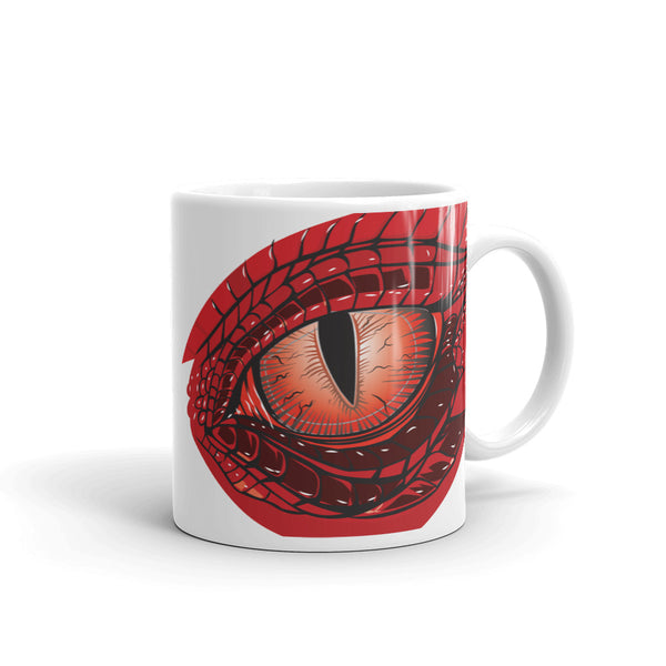Dragon Eye Mug - by Alliestrasza