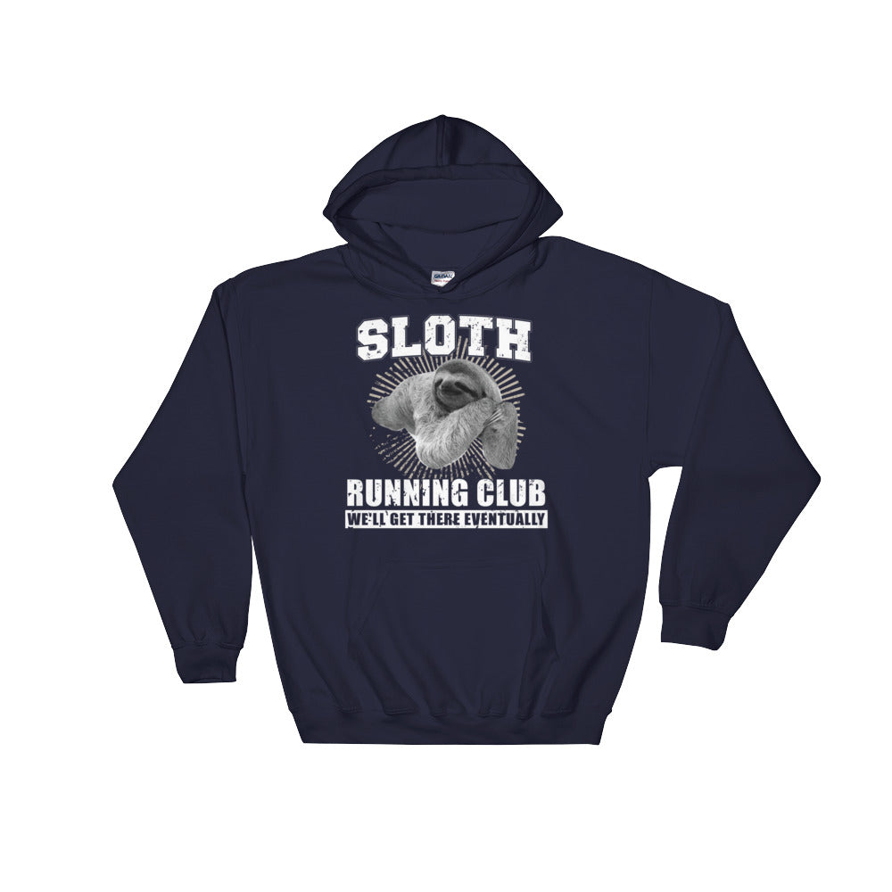 Sloth Running Club Hooded Sweatshirt