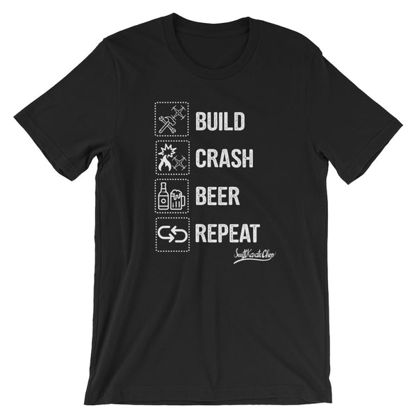 Build Crash Beer T-Shirt