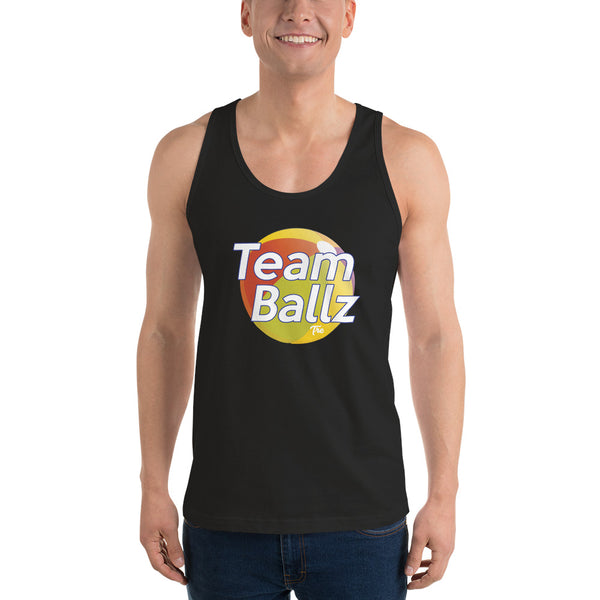 Team Ballz Classic Tank Top by Triggered Tro