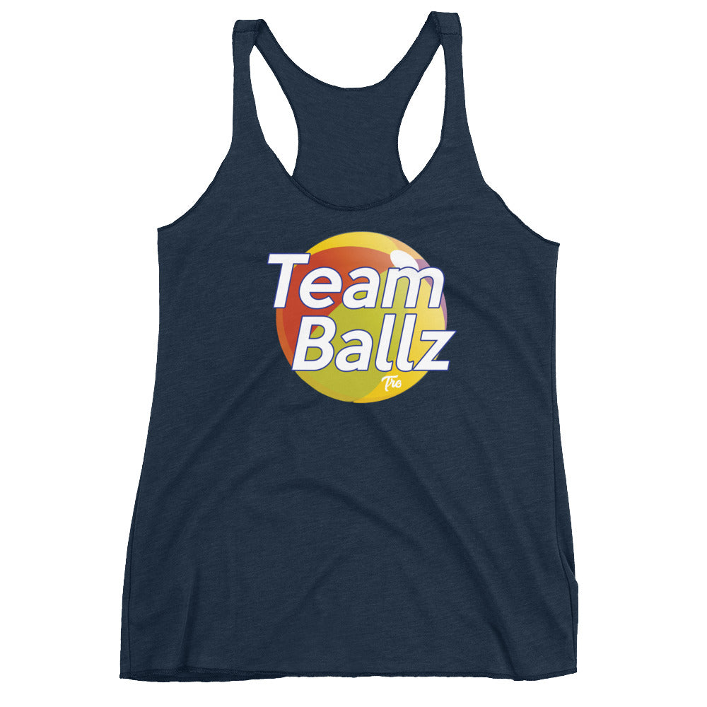 Team Ballz Women's Racerback Tank
