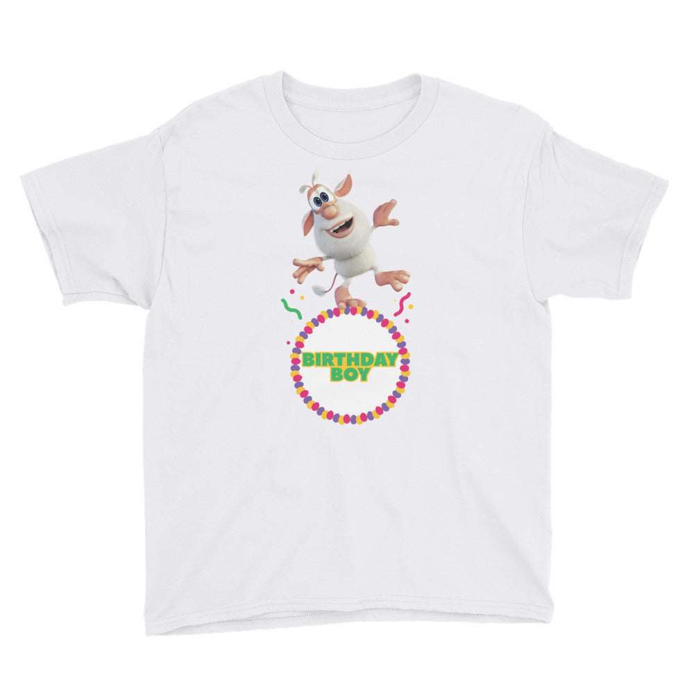 Birthday Boy Youth Short Sleeve T-Shirt - Official Booba Apparel