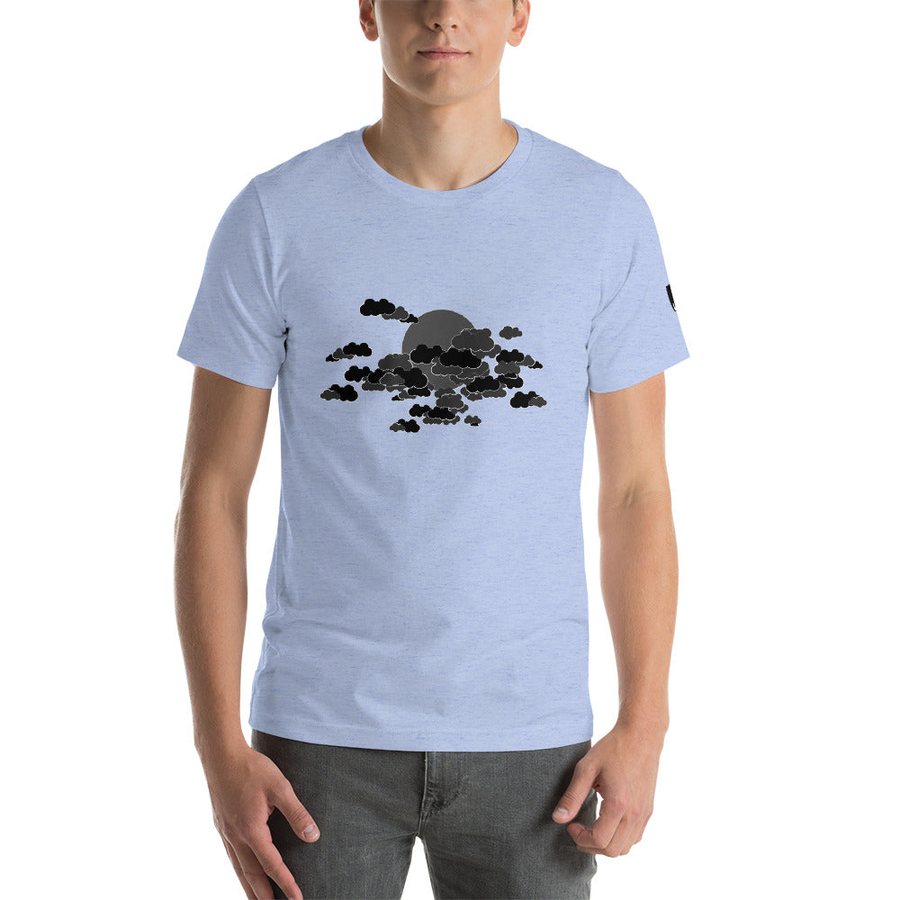 Dark Couds Unisex T-Shirt by PJ Dreams