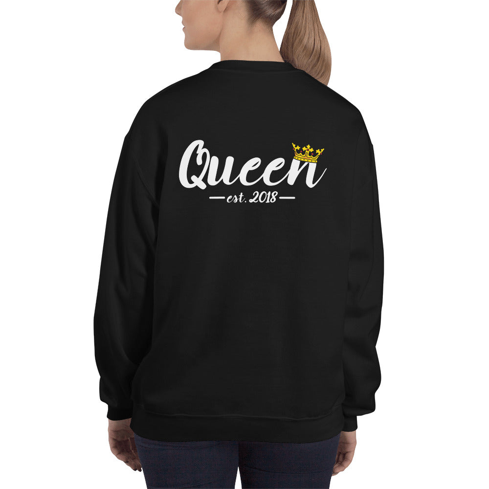 Matching Queen Sweatshirt by Marsai Bell