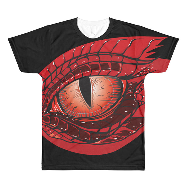 Dragon Eye Black Tee by Alliestrasza