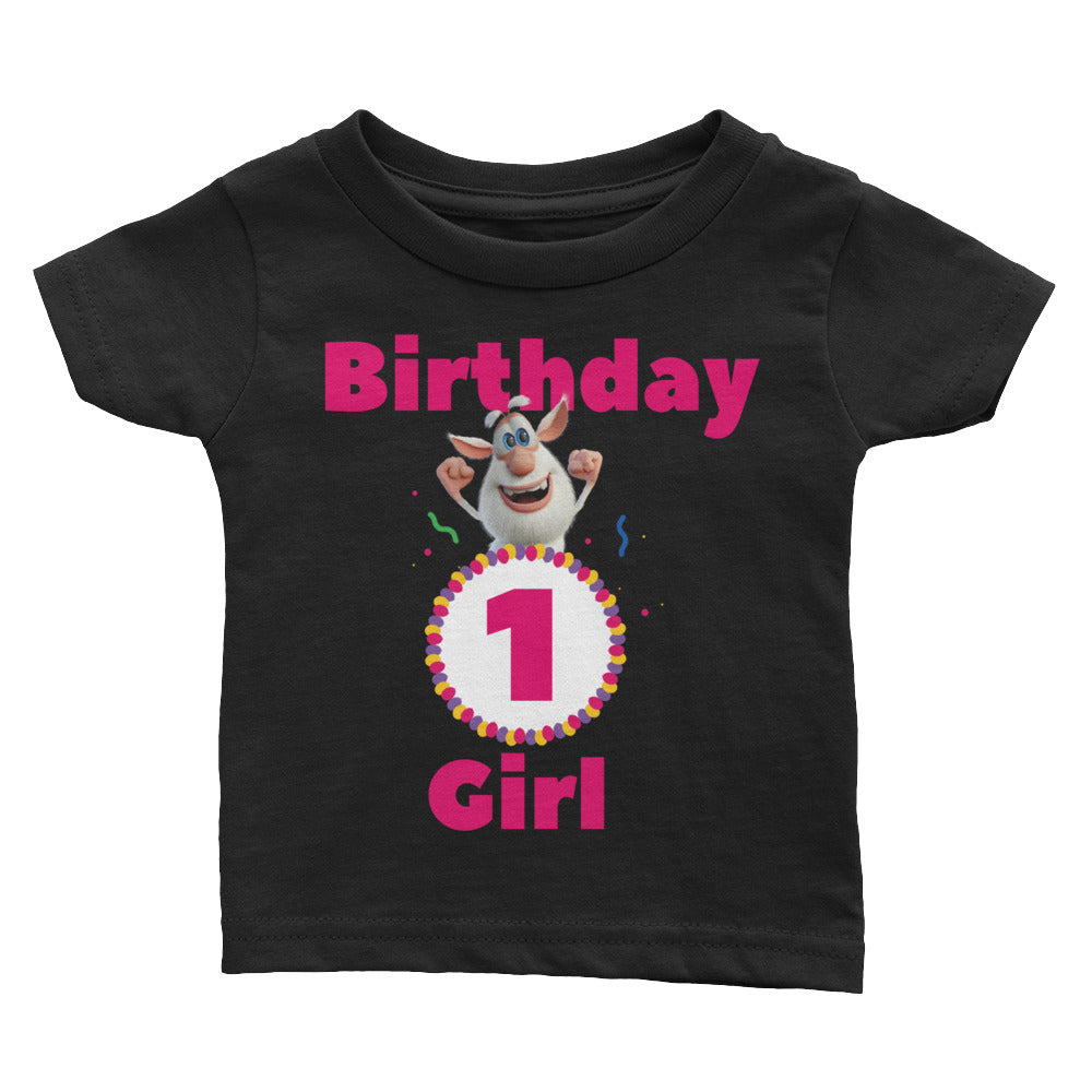 Birthday Girl Infant Tee - Official Booba Apparel