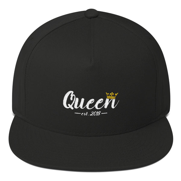 Queen Flat Bill Cap by Marsai Bell